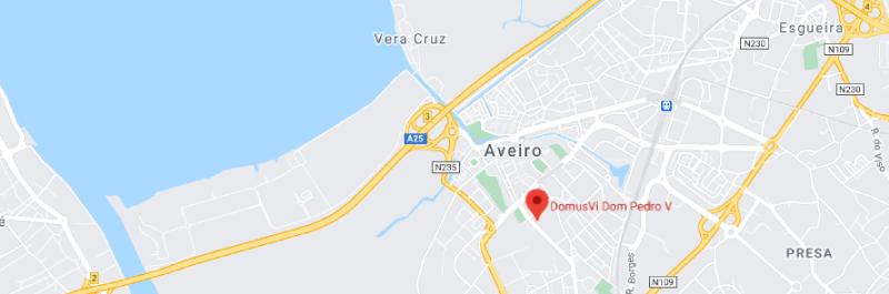 DomusVi Dom Pedro V - Localização