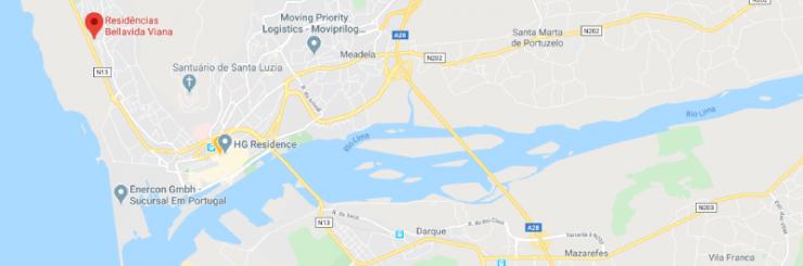 DomusVi - Mapa Villa Carolina