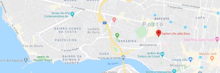 DomusVi - Mapa Júlio Dinis