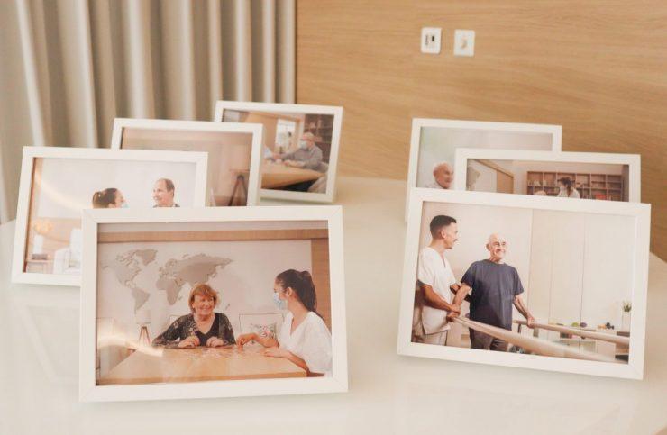 Presenteamos os nossos Clientes com uma fotografia, na DomusVi Dom Pedro V.