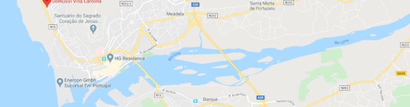 DomusVi Villa Carolina - Localização
